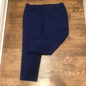Eloquii bright blue Kady trousers size 16S